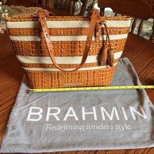 BRAHIM EUC Brown Shoulder Bag